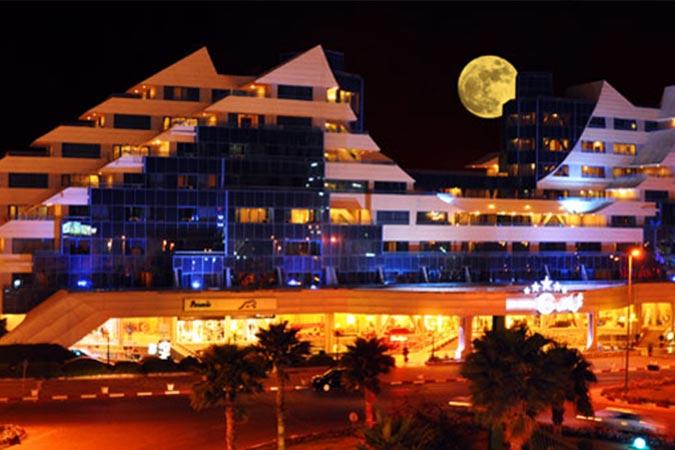 ساختمان هتل پارمیس کیش