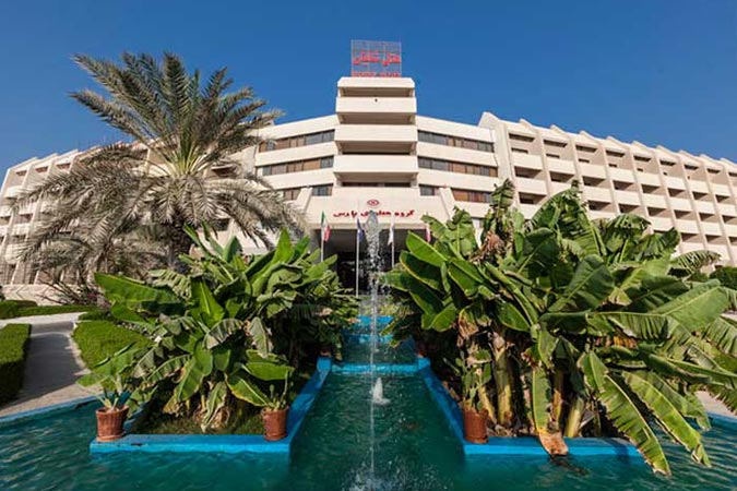 ساختمان هتل شایان کیش
