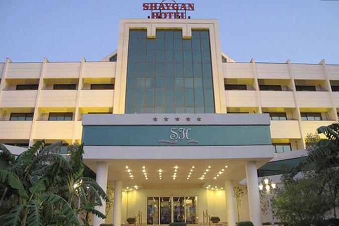 ساختمان هتل شایگان کیش