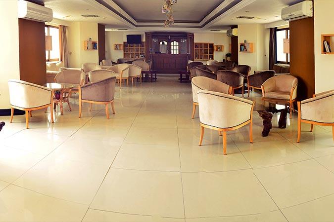 لابی هتل شایگان کیش