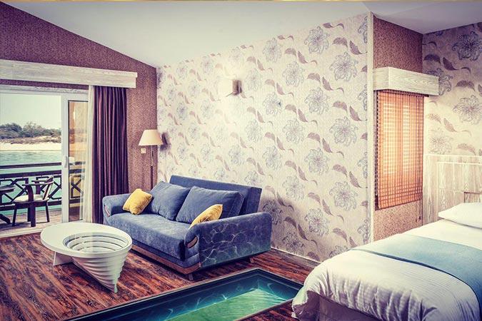 اتاق هتل ترنج کیش