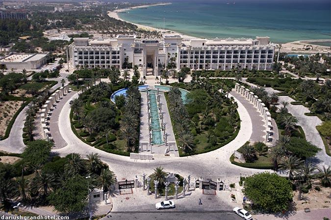ساختمان هتل داریوش کیش