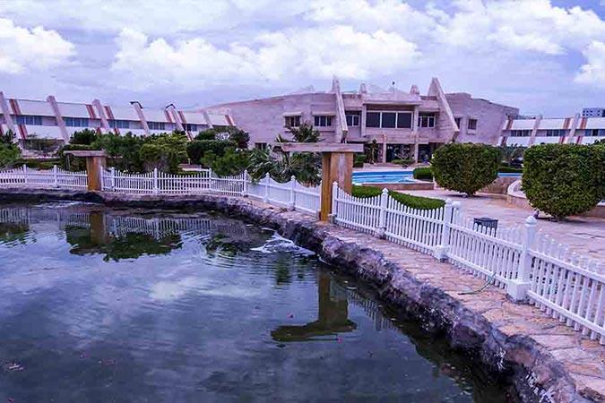 محیط هتل مارینا پارک کیش