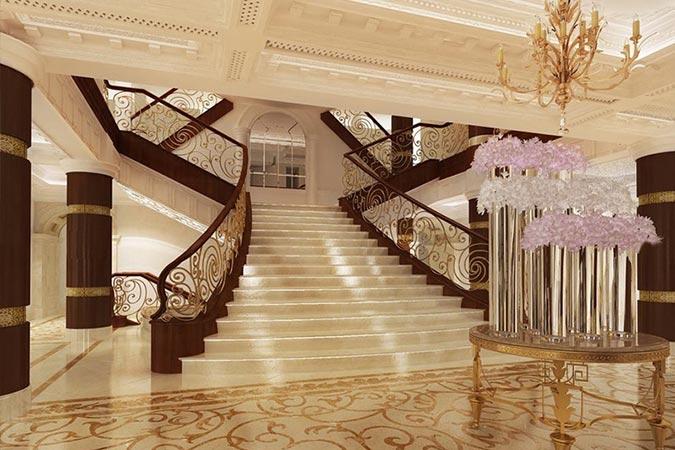 محیط هتل سورینت مریم کیش