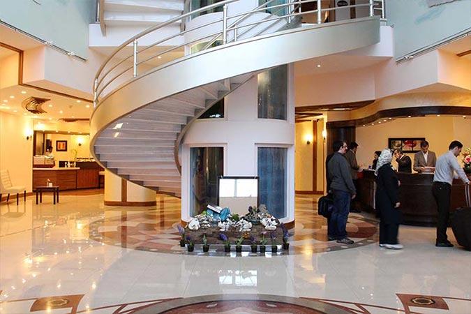 لابی هتل سورینت صدف