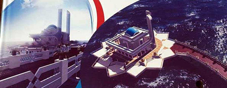مسجد روی آب کیش