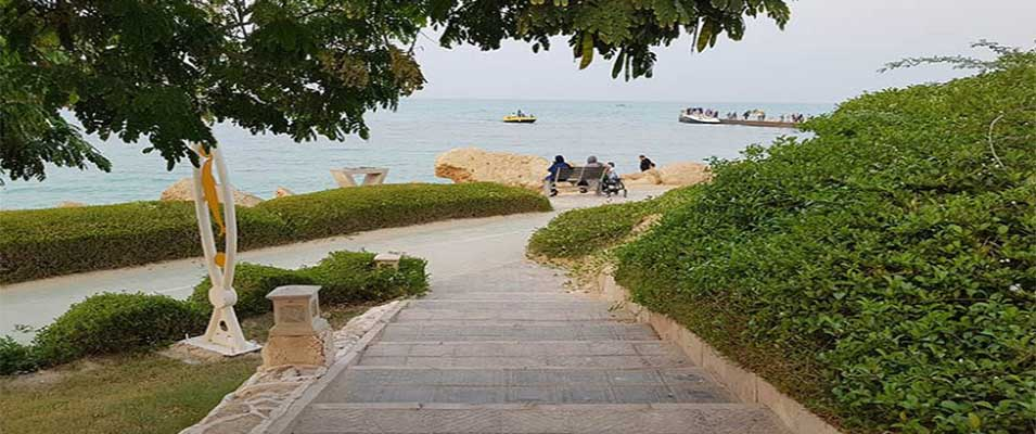 امکانات پارک ساحلی مرجان کیش