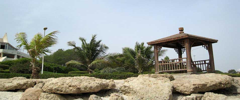 آدرس پارک ساحلی مرجان در کیش