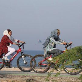 دوچرخه سواری در کیش را فراموش نکنید