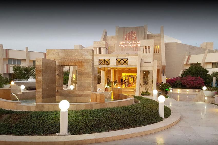 هتل لوکس مارینا کیش