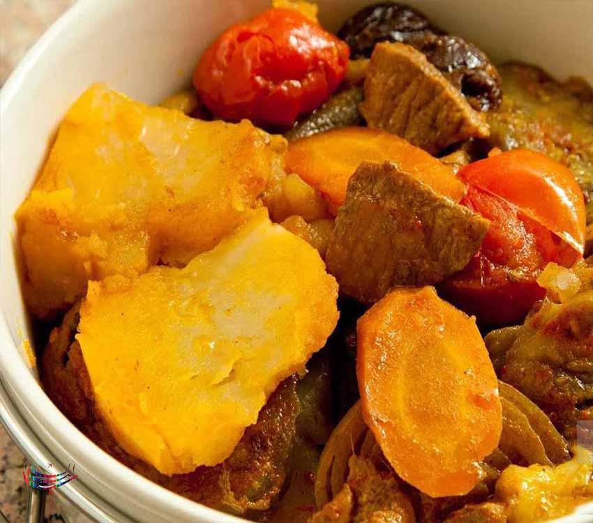 خوشمزه ترین غذا در بین غذاهای محلی کیش مرگوگ