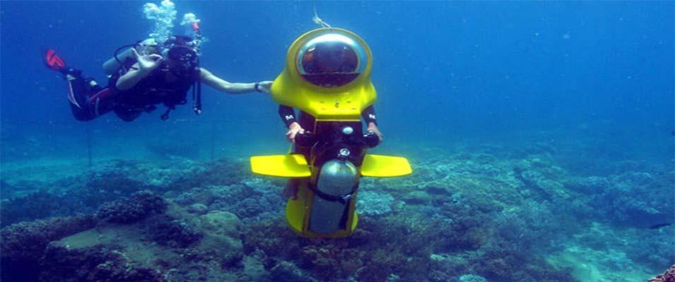 بلیط اسکوتر زیر دریایی کیش را از کجا بخریم؟