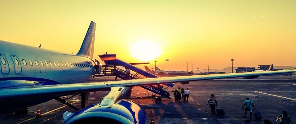 نکات سفر به کمیش: سفر هوایی