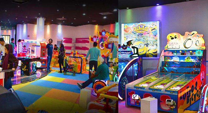شهربازی هایلند کیش یکی از جاهای تفریحی کیش برای کودکان