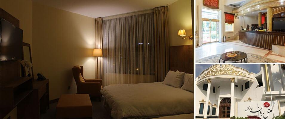 هتل سه ستاره ریان قائم یکی از هتل های ارزان کیش
