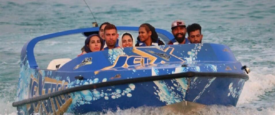 چند نکته درباره قایق دیوانه تندرو کیش