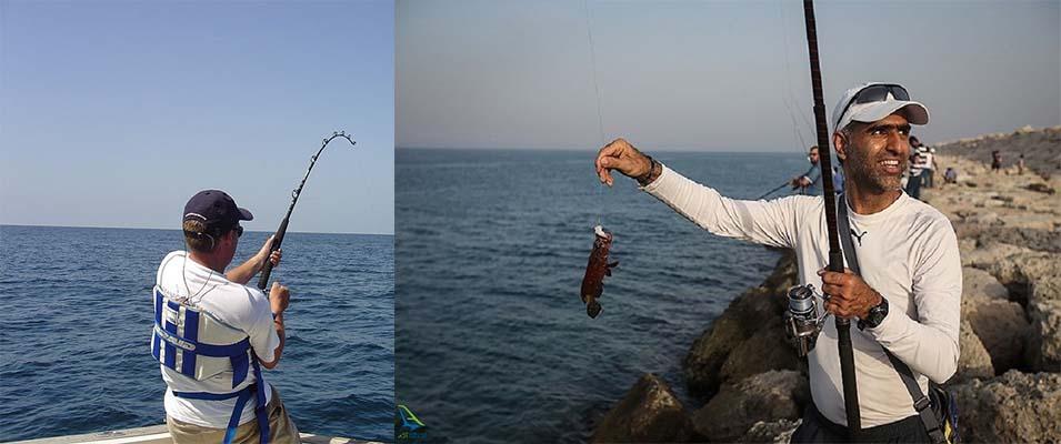 ماهیگیری در کیش یک تفریح منحصر به فرد