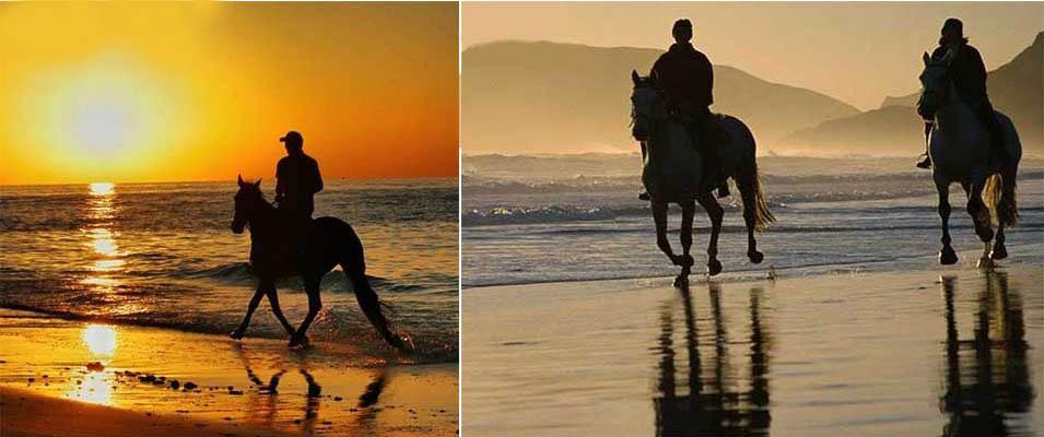 تجربه اسب سواری در کیش