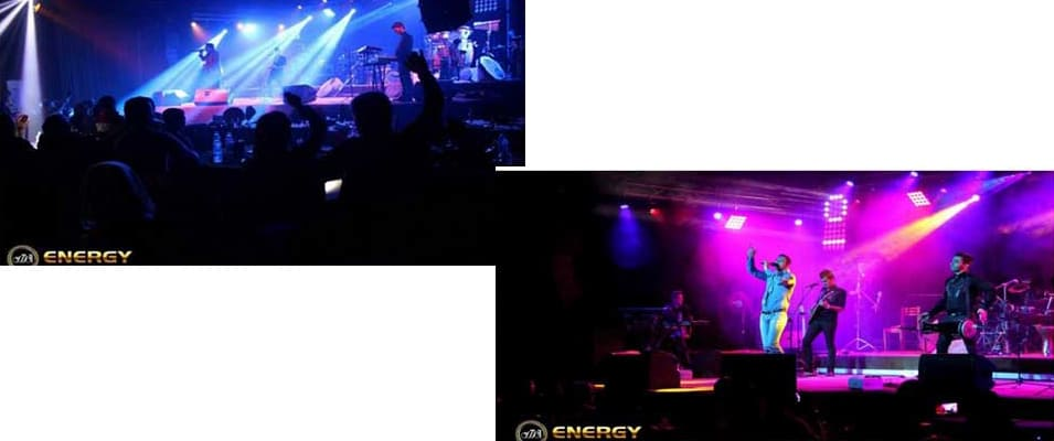 اجرای زنده رستوران انرژی کیش
