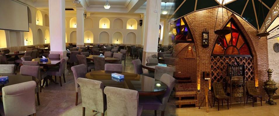 فضای داخلی رستوران باباقدرت