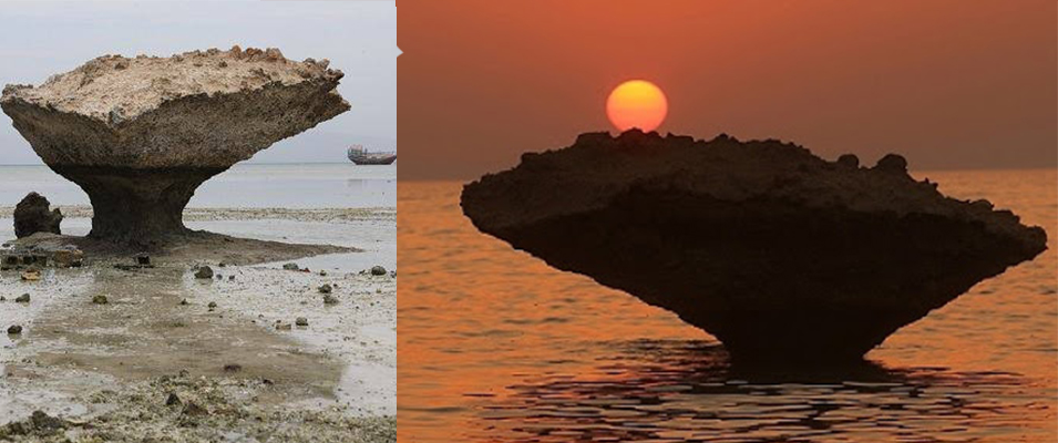 صخره های قارچی کیش